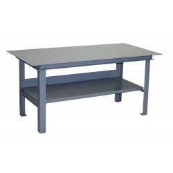Jamco products ug472 fixed height work table steel for Table width not working