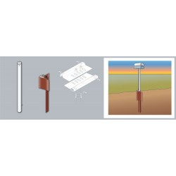 Tapco - 034-00058 - Single Mailbox Support Kit