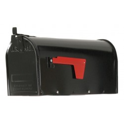Tapco - 034-00115 - Steel Mailbox, Type 1, Black