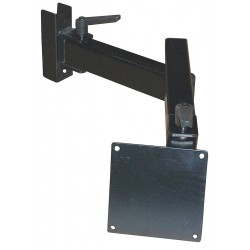 Pro-line - FSMA - Textured Black Monitor Arm, Mounts to Accessory Uprights Mount, 45 lb. Weight Capacity