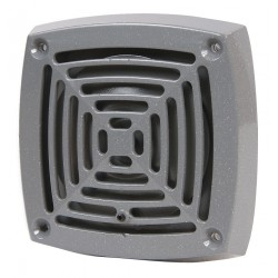 Edwards Signaling - 871PG1 - Edwards 871P-G1 Vibrating Horn, Panel Mount, 24V DC, 0.16A, Gray, Non-Metallic