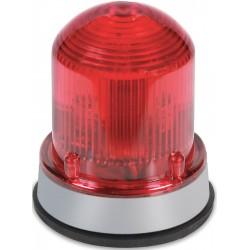 Edwards Signaling - 125LEDSR120A - Edwards 125LEDSR120A Beacon, Type: LED Steady-On, 120VAC, 0.097A, NEMA 4X, Red