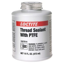 Loctite / Henkel - 1527514 - Thread Seal Tape W/ptfe White 1pt Can (moq=12)