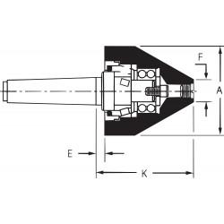 Riten - 91054 - Quick Point, Bull Nose, 5MT