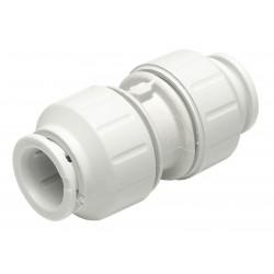 John Guest - PEI0420 - PEX Coupler, 1/2 Tube Size