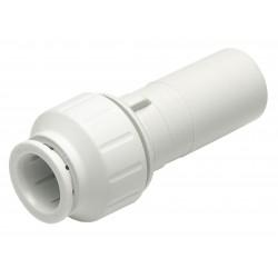 John Guest - PEI062820 - PEX Reducer, 3/4 x 1/2 Tube Size
