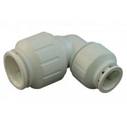 John Guest - PEI212820 - PEX Reducing Elbow, 90, 3/4 x 1/2 Tube Size