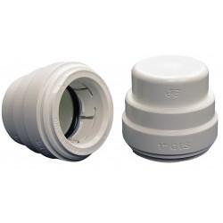 John Guest - PSEI4620 - Polysulfone Test Cap, 1/2 Tube Size