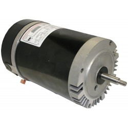 A.O. Smith - USN1102 - 1 HP Pool and Spa Pump Motor, Permanent Split Capacitor, 3450 Nameplate RPM, 115/208-230 Voltage, 56
