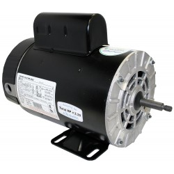 A.O. Smith - B2232 - 1, 1/10 HP Pool and Spa Pump Motor, Capacitor-Start, 3450/1725 Nameplate RPM, 230 Voltage, 56Y Frame