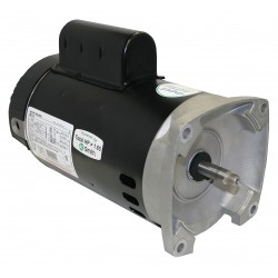 A.O. Smith - B2982 - 1, 1/10 HP Square Flange Pool Pump Motor, Capacitor-Start/Run, 3450/1725 Nameplate RPM, 230 Voltage,