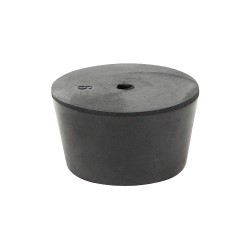 Other - 10-1H - Stopper, 25mm, Rubber, Black, PK8