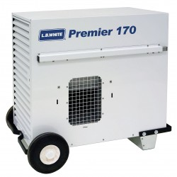 L.B. White - TS170ASPN220097 - 32 x 24-1/4 x 32 Ductable Tent Portable Gas Heater with 4000 sq. ft. Heating Area