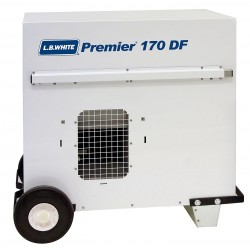 L.B. White - CS170ASDN220151 - 32 x 24-1/4 x 32 Ductable Tent Portable Gas Heater with 4000 sq. ft. Heating Area