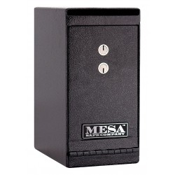 Mesa Safe - MUC1K - Cash Depository Safe, 0.2 cu. ft., 20 lb., Hammered Gray