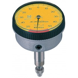 Mitutoyo - 1960T - Balanced Reading Dial Indicator, AGD 1, 37mm Dial Size, 0 to 1mm Range