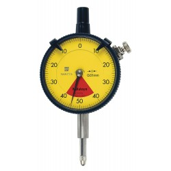 Mitutoyo - 2929SB - Balanced Reading Dial Indicator, AGD 2, 2.400 Dial Size, 0 to 0.8mm Range