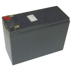 Edwards Signaling - 12V24A - Battery, Voltage 12, Battery Capacity 26Ah, Tab with Bolt Hole Terminal Type