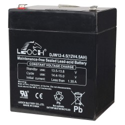 Edwards Signaling - 12V4A - Battery, Voltage 12, Battery Capacity 4Ah, Spade Terminal Type