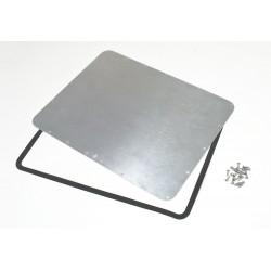 Plasticase - 930-BEZEL KIT - Waterproof Panel Kit, for 930 Case, Alum.