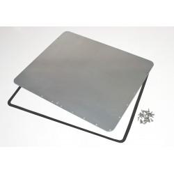 Plasticase - 945-BEZEL KIT - Waterproof Panel Kit, for 945 Case, Alum.