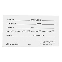 JL Darling - FS1 - Fish Scale Envelopes, Blank, PK1000
