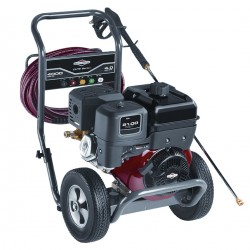 Briggs & Stratton - 20507 - Industrial Duty (3300 psi and Greater) Gas Cart Pressure Washer, Cold Water Type, 4.0 gpm, 4000 psi