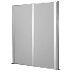 Porta-King - FSP1010-DW - Partition, Free-Standing, Vinyl, 10L x 10H