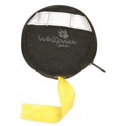 Wolfpack Gear - FTD-HR-3114-BK - Flagging Tape Dispenser, Black, Holds (1) 3 x 1000 ft. Roll, 1 EA