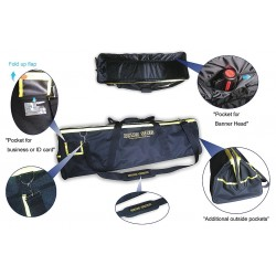 Banner Stakes - 20120065 - Barrier System Utility Bag, Black