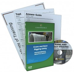 Convergence Training - 342 - DVD, Crane and Hoist Rigging Safety