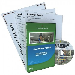 Convergence Training - 131 - DVD, Hot Work Safety, English