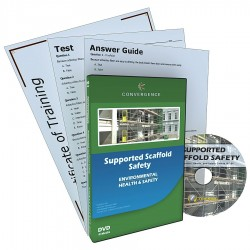 Convergence Training - 354 - DVD, Supported Scaffolding Safety, English
