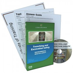 Convergence Training - 340 - DVD, Trenching and Excavation Safety