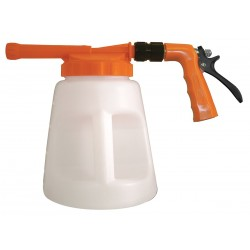 Columbia Sanitary Products - N2F - Safety Orange/White Plastic Spray Foamer, 3/4 GHT, 1 EA
