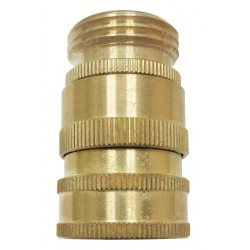 Columbia Sanitary Products - N19 - Brass Swivel Hose Adapter, For Use With Nozzles and Hose