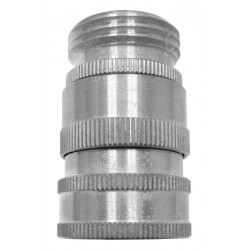 Columbia Sanitary Products - N19S - Stainless Steel Swivel Hose Adapter, For Use With Nozzles and Hose