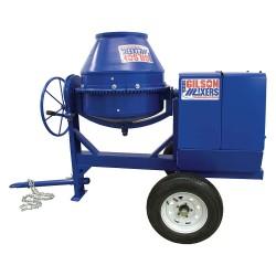 Marshalltown Trowel - MIX59289 - Concrete Mixer, 6 Cu. Ft., Honda Gas, 8HP