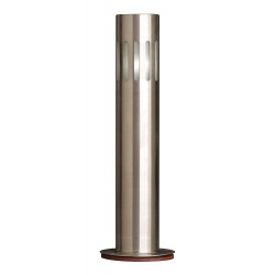 Calpipe - SSLS08050-S-F - 48H Stainless Steel Bollard Cover For Post Size with 8 dia., Silver