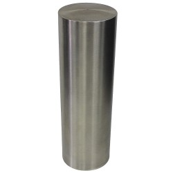 Calpipe - SSLV08000-F - 36H Stainless Steel Bollard Cover For Post Size with 6-5/8 dia., Silver