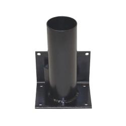 Calpipe - STS301R-B - Black Bollard Storage Rack, Removable Locking System, 4 Bollard Outside Dia.