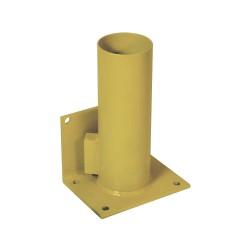 Calpipe - STS301P-Y - Yellow Bollard Storage Rack, Padlockable Locking System, 4 Bollard Outside Dia.