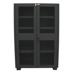 Jamco Products - DM248-BL - Storage Cabinet, Black, 78 Overall Height, Assembled