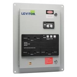 Leviton - 52120-CM2 - Surge Panel With Replaceable Surge Modules
