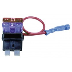 Buyers - 5601010 - 2-Pole Automotive Fuse Holder, AC: Not Rated, DC: 12VDC, 5 to 10A, Series ATO