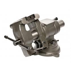 Palmgren Steel - MJ50 - 5 Cast Iron Multi-Jaw Rotating Vise, 3-1/2 Throat Depth