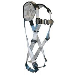 Falltech - G7087XL - FlowTech Full Body Harness with 310 lb. Weight Capacity, Silver, XL