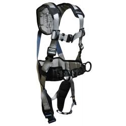 Falltech - G7089XL - FlowTech Full Body Harness with 310 lb. Weight Capacity, Silver, XL