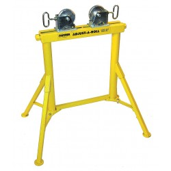 """Sumner - 780368 - Roller Head Pipe Stand, 1/2 to 36"""" Pipe Capacity, 31"""" Overall Height, 2000 lb. Load Capacity"""