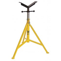 "Sumner - 780395 - V-Head Pipe Stand, 24"" Pipe Capacity, 32"" to 52"" Overall Height, 3500 lb. Load Capacity"